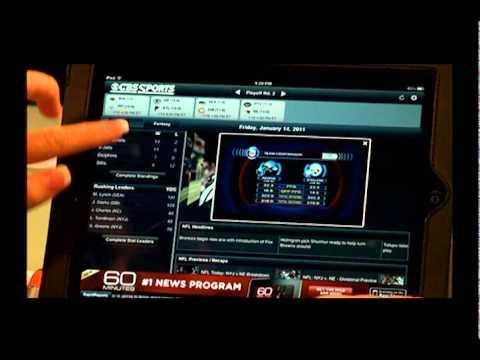 iPad App Review - CBS Sports Pro Football