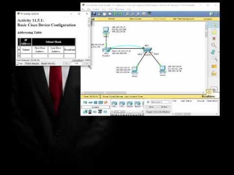 Basic Cisco Device Configuration