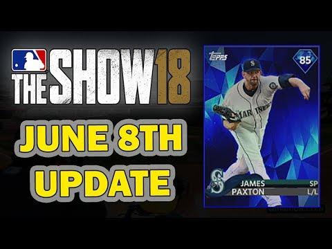 JUNE 8th ROSTER UPDATE | MLB 18 DIAMOND DYNASTY