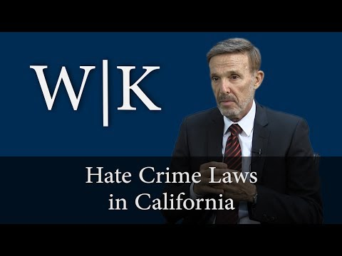 Hate Crime Laws in California