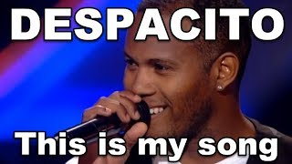 DESPACITO VOICE, DESPACITO X Factor ► CLICK HERE to Learn How To Sing Tips To Improve Your Singing Voice ► http://MusicTalentNow.com/Learn-To-Sing ◄ ♥  Please Follow Me On Twitter ♥ http://bit.ly/Twitter_MusicTalentNow ♥ Love You ♥   1. X Factor Ukraine 2017 - Rigobert Mustelier  2. The Voice Russia 2017 -  Yasmani Angulo Silva   DESPACITO Best Covers On VOICE and X Factor! Luis Fonsi - DESPACITO Top Covers In the World  Comin