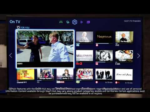 Samsung Smart TV   How To: make the most of the Samsung TV Smart Hub
