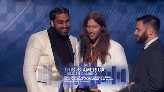 Download This Is America Wins Record Of The Year | 2019 GRAMMYs Acceptance Speech Video