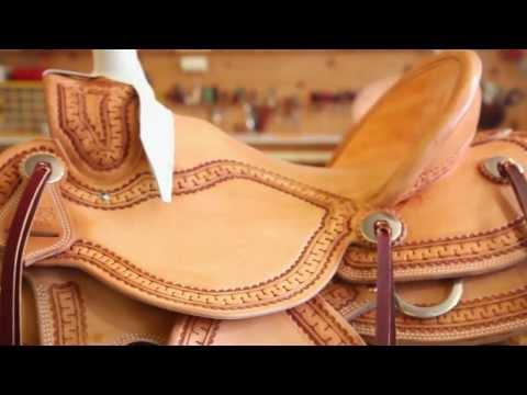 Saddle Making | Burns Saddlery Custom Saddles | Horse Saddle | BurnsSaddlery.com