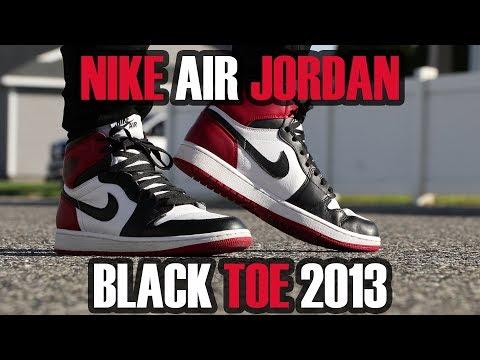 Nike Air Jordan Black Toe 2013 Review + On Feet Retro