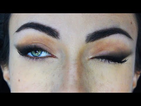 How To: Easy Soft Smokey Liner Makeup Tutorial | MakeupAndArtFreak
