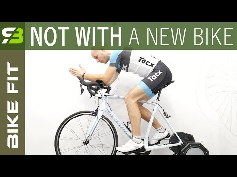 Why I Woudn't Go For A Bike Fit With A NEW Bike.