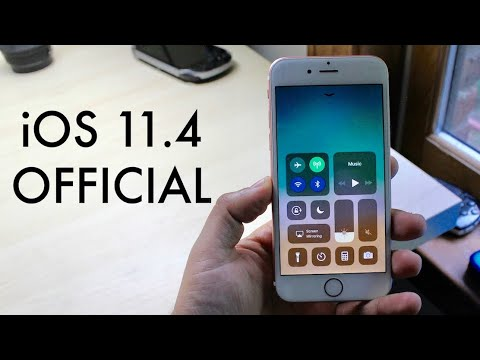 iOS 11.4 OFFICIAL On iPHONE 6S! (Review)