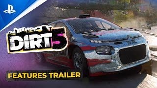 Dirt 5 - Official Features Trailer | PS4, PS5