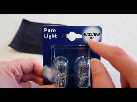 VW UP - How to change the Daytime Running or Side Lights.