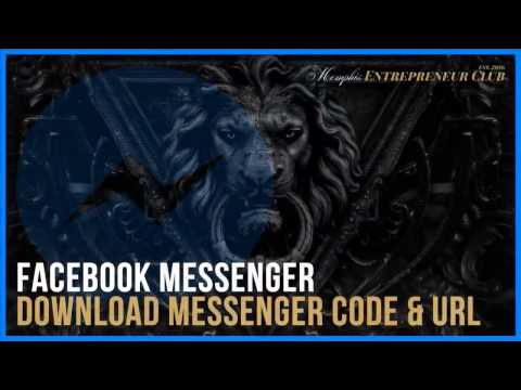 Download Your Messenger Code & URL [Profile & Pages]
