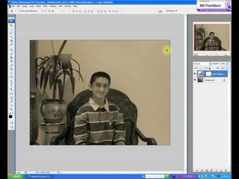 Old Photo Effect-Adobe Photoshop CS3-6 Easy Steps!