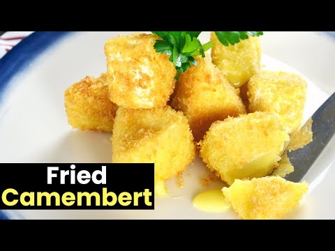 Crispy Deep Fried Camembert Recipe