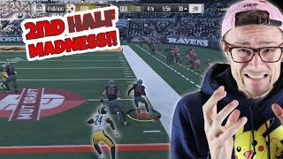 THE SECOND HALF OF THIS GAME WAS ABSOLUTELY NUTS!! BACK AND FORTH UNTIL THE END!! Madden 18 RTE