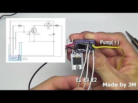 DIY Sump Pump Control Circuit (DC12V)
