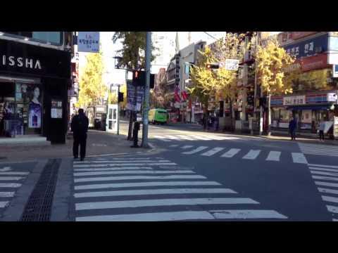 Walk Through Sinchon, Seoul