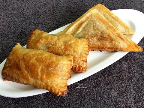 Chicken Puff Using Sandwich Toaster & Oven