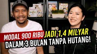 MODAL 900 ribu JADI 1,4 MILYAR  DALAM 3 BULAN TANPA HUTANG | Arli Kurnia | Christina Lie 101Red