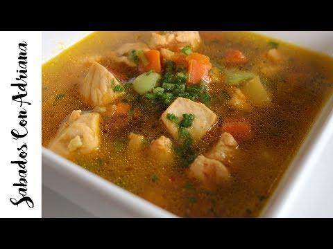 Regreso a clases! - Caldo o Sopa de Pollo con Verduras