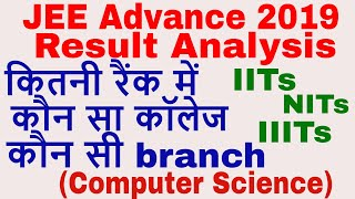 JEE Advance 2019 Result Analysis || JEE Toppers || JEE Counselling