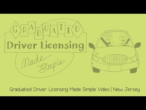 Graduated Driver Licensing Made Simple | New Jersey