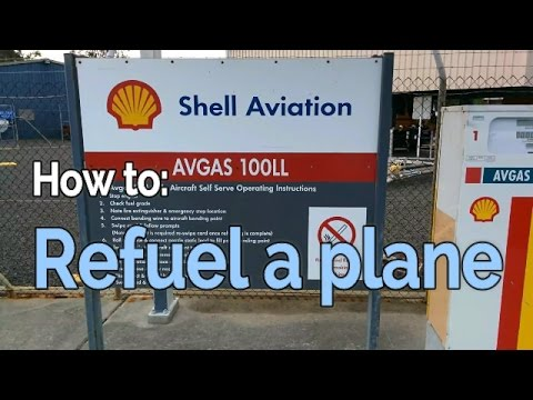 Learn to Fly: How to refuel a plane   student pilot