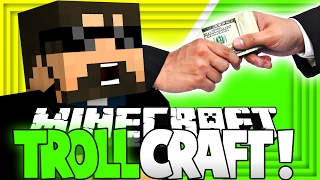 Minecraft: TROLL CRAFT | BRIBING THE ADMINS!! [26]