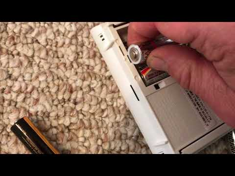 Replacing the batteries in a Kidde carbon monoxide alarm