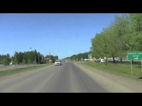 Travel Guide Road Trip Entering Fort Nelson Mile 300 Alaska Highway