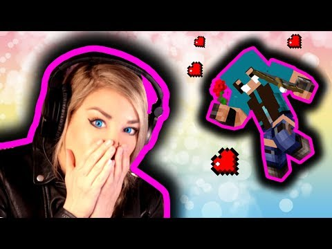♡ LITTLE SQUARE FACE vs.THE LOVE QUIZ! | Minecraft Psycho Girl wants to date Little Square Face