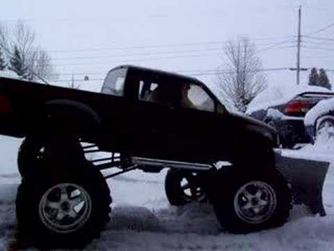 RC snow plow 2 R/C scale ford f150