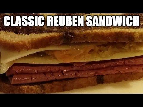Reuben Sandwich Recipe - How To Make A Classic Corned Beef Reuben