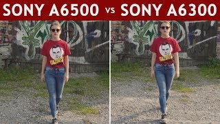 Sony A6300 vs. Sony A6500 Stabilisation Review | Handheld, Vlogging, Gimbal