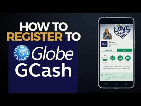 How to Register to Globe GCash