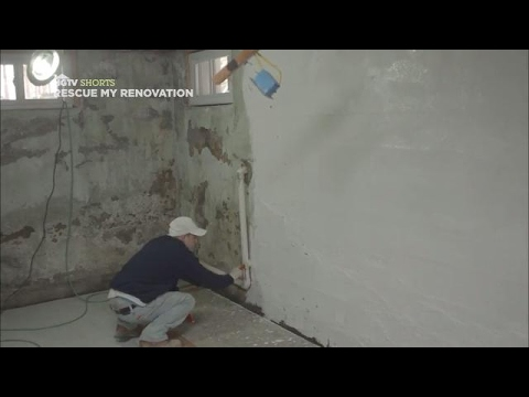 Waterproofing a Basement | Rescue My Renovation | HGTV Asia