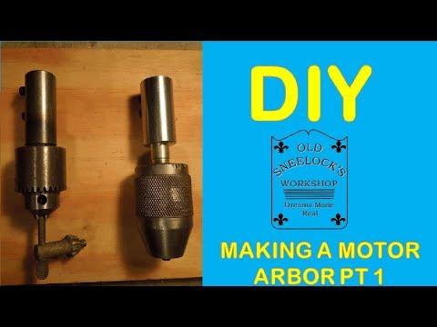 DIY ~ MAKING A MOTOR ARBOR ADAPTOR ~ PT 1 ~ TURNING