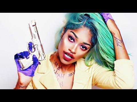 Female Joker ☠  Glam Hair x Makeup