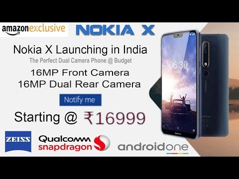 Nokia X 2018 - LIVE First LOOK in India!!! Nokia X6 official renders leaked ahead of May 16 launch,