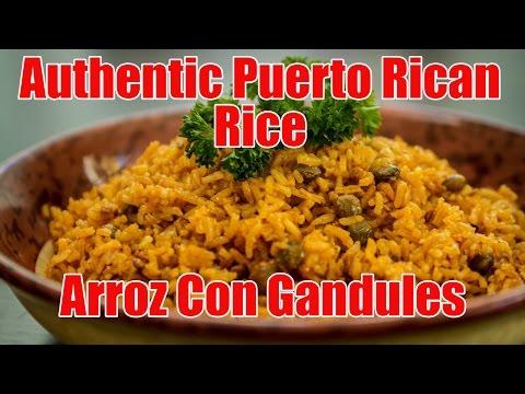 Authentic Puerto Rican Rice/Arroz Con Gandules Recipe   Episode 6