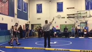 Wrestling- 2018 Sectionals 3rd place match 1