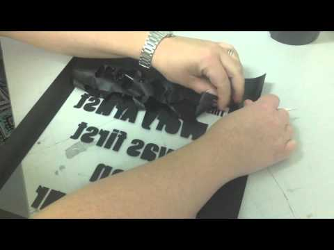 Using Silhouette Cameo for T-Shirt Printing