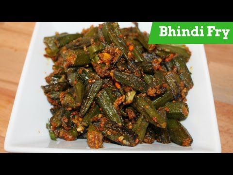 Bhindi Fry Recipe-How To Make Okra Fry-Bhindi Fry Masala By Harshis Kitchen Indian Recipes