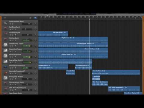 GarageBand Techno Song /by HouseTech