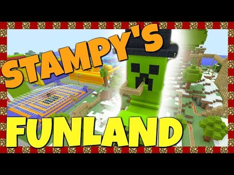 Stampy's Funland - All Rides!