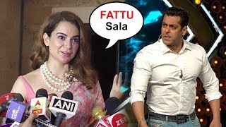Kangana Ranaut Makes FUN Of Salman Khan For Being SCARED Of Speaking Against PM Modi