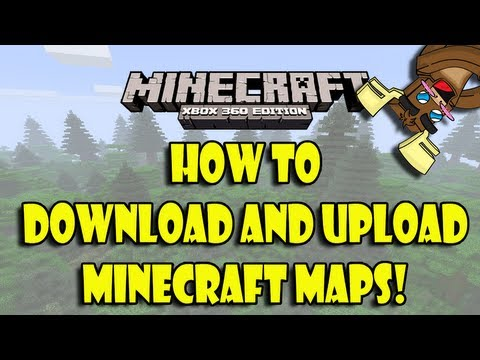 Minecraft (Xbox 360) How to Upload and Download Maps!