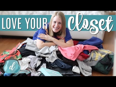 SPRING CLOSET PURGE! 💙 Organizing a wardrobe that works FOR you!
