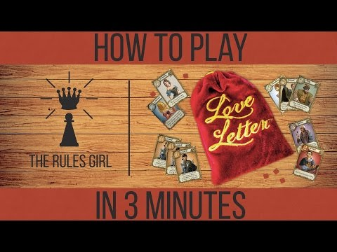 How to Play Love Letter in 3 Minutes - The Rules Girl
