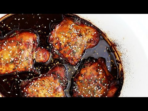 Crock Pot Honey Garlic Chicken