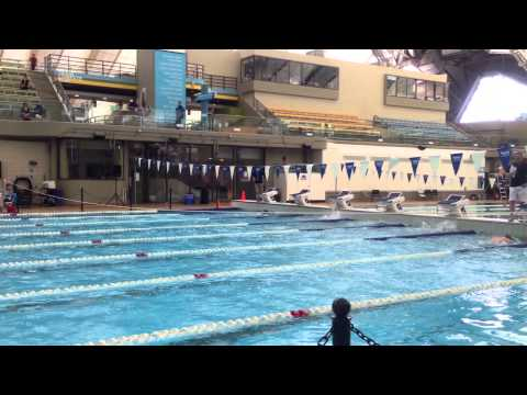 Calgary Masters Swim Meet 2015 Lisa Brown 50 Back